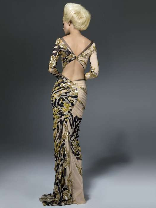 Роскошный lookbook коллекции Atelier Versace