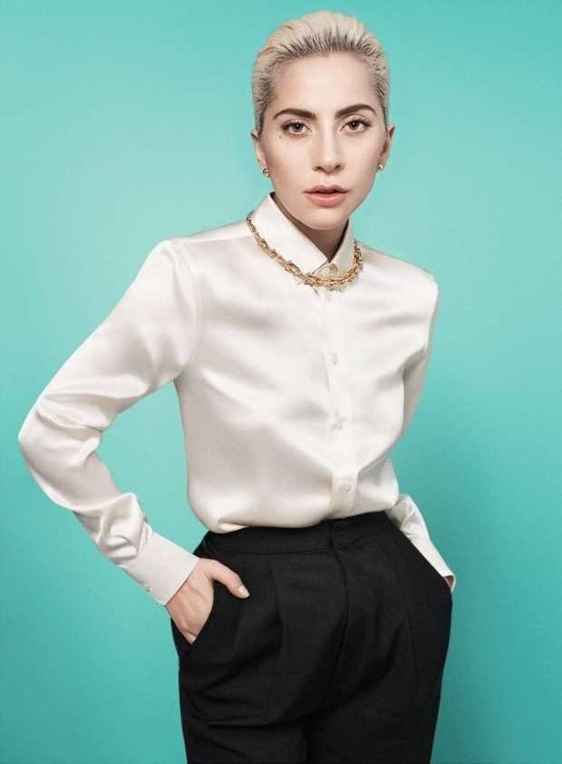 Скромница Леди Гага рекламирует Tiffany