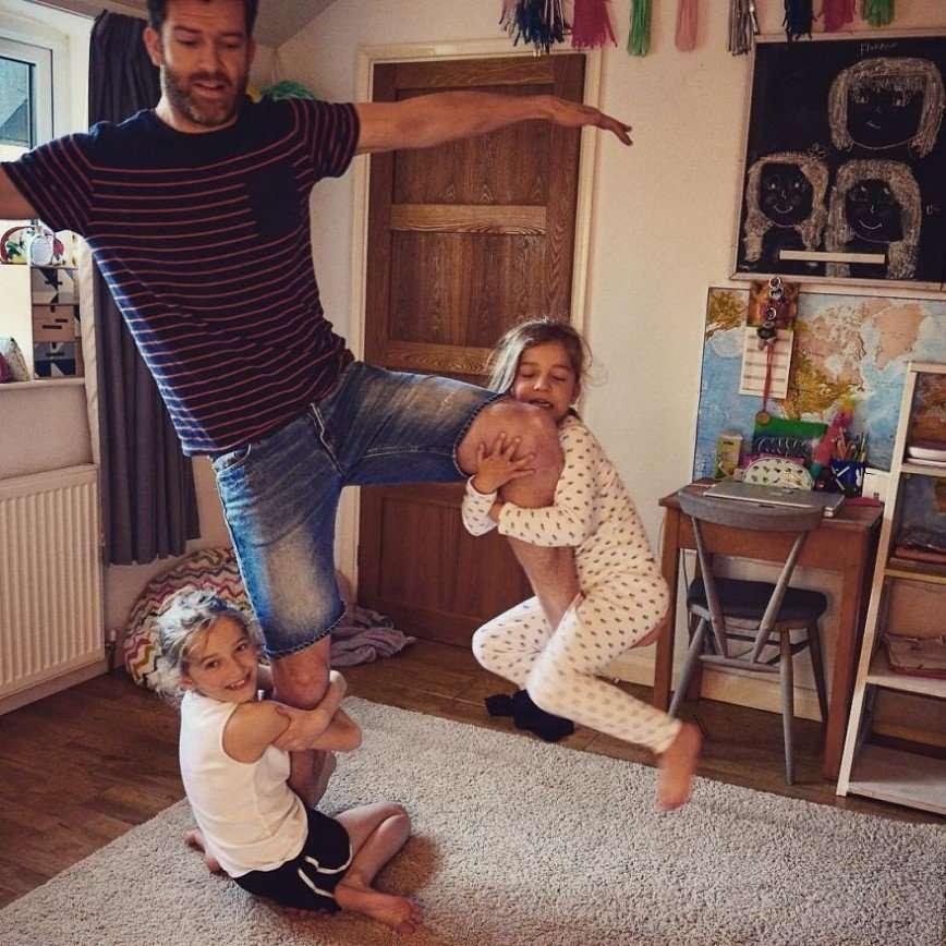 Папа четырех дочерей - вся правда об отцовстве