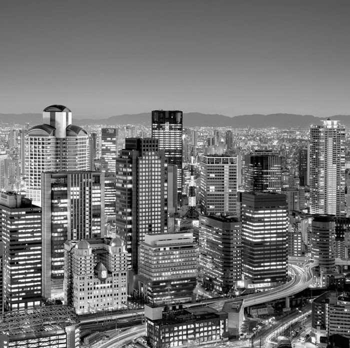 Черно-белые фотографии волшебной Японии