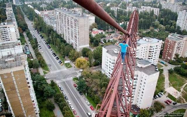 Экстремальное увлечение киевлянина Mustang Wanted