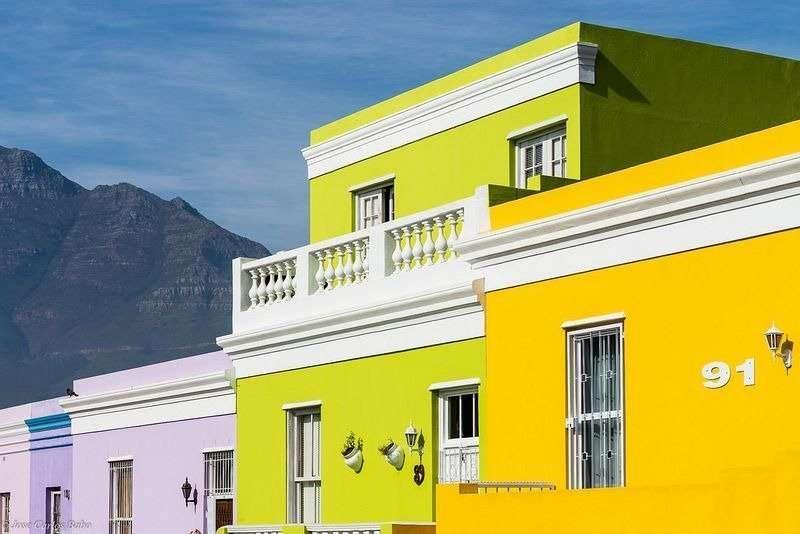 Бо-Каап - яркий квартал в Кейптауне
