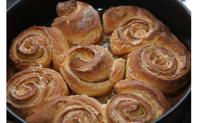 Пирог «Роза»