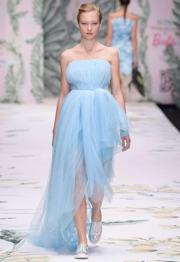 Alena Akhmadullina for Barbie SS2016 на Mercedes-Benz Fashion Week Russia