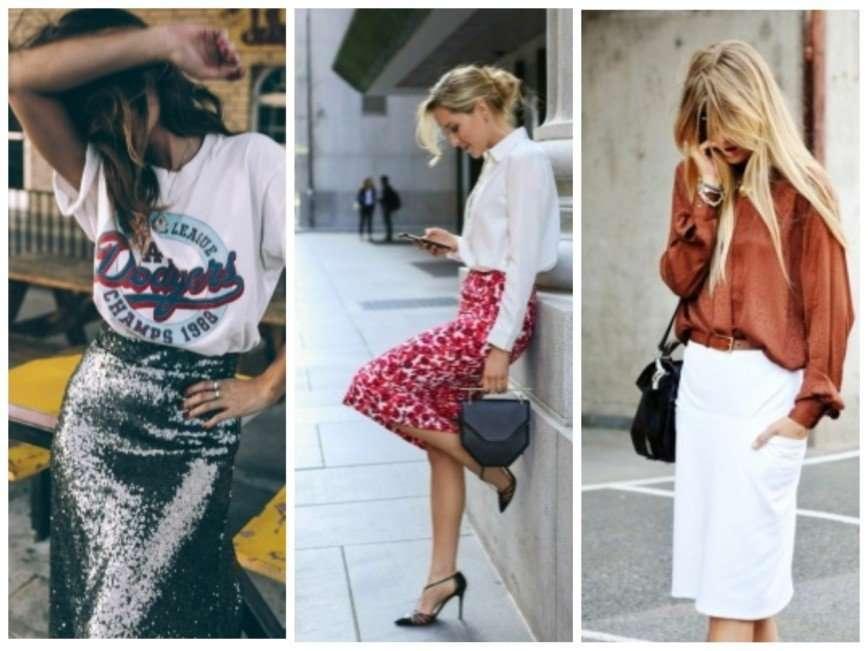 Как носить юбку-карандаш и не выглядеть