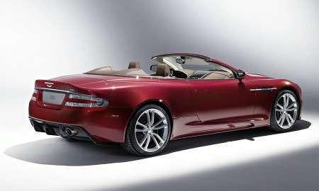 Кабриолет Aston Martin DBS Volante