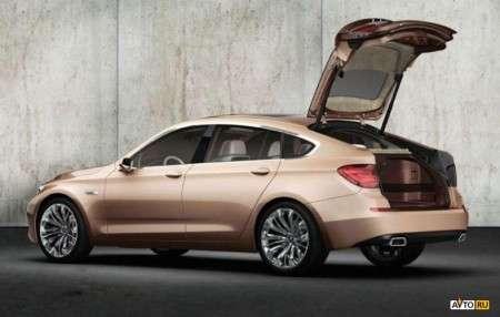 Концепт BMW Concept 5 серии Gran Turismo