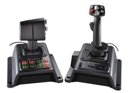 Контроллер для авиасимуляторов Logitech Flight System G940