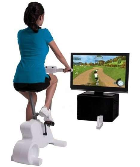 Велотренажер для Wii