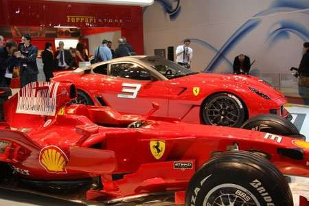 Автомобиль Ferrari 599ХХ