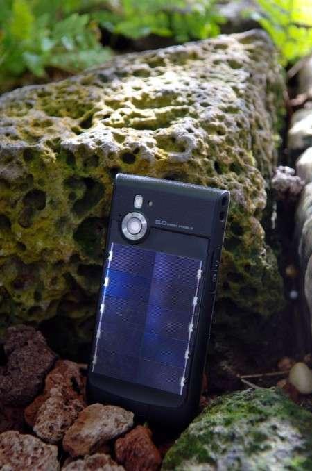Мобильный телефон с солнечной батареей от LG