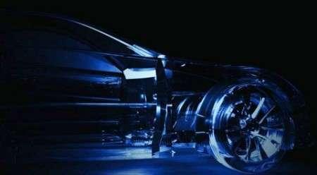 Прозрачный автомобиль Lexus LF-A