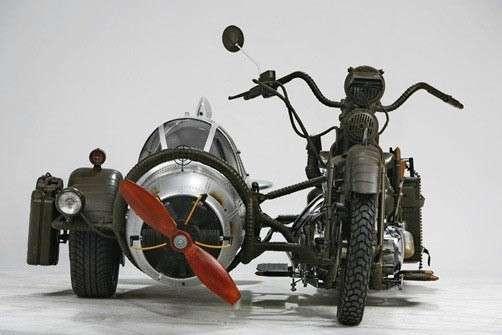Мотоцикл-истребитель