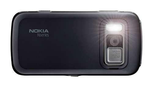 Телефон с 8-мегапиксельной камерой Nokia N86