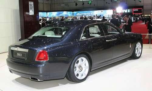 Концепт 200EX от компании Rolls-Royce