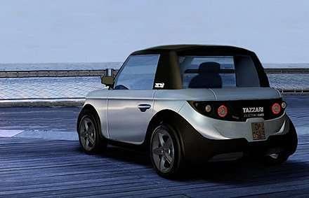 Компактный городской автомобиль Tazzari Zero