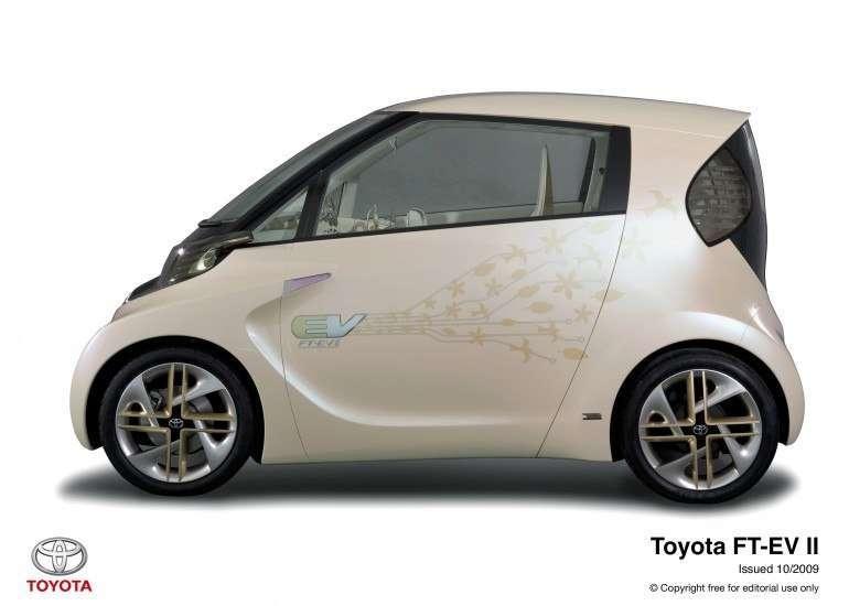 Электромобиль Toyota FT-EV II