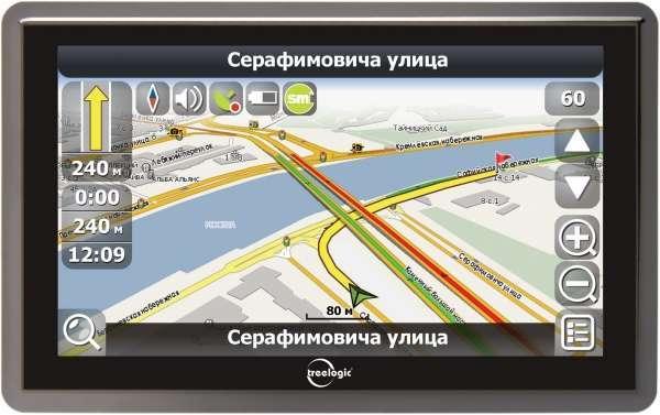 GPS-навигатор Treelogic TL-5001B