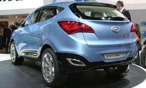 Концептуальный внедорожник Hyundai ix-ONIC