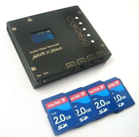Аудио-видеорекордер mAVR H.264х4