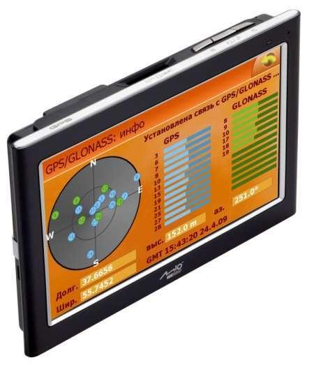 ГЛОНАСС/GPS навигатор Mio C725