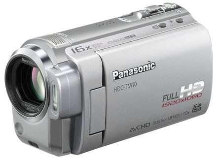 Легкая FullHD-видеокамера Panasonic HDC-TM10