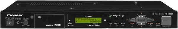Система хранения HD-видео Pioneer HD-V9000