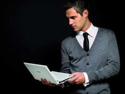 Мини-ноутбук с виджетами Samsung NC10