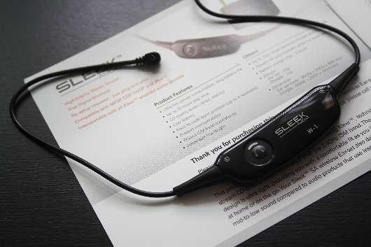 Беспроводные наушники Sleek Audio SA6